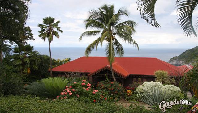 Jardin Botanique Deshaies Sur Guadeloupe Net